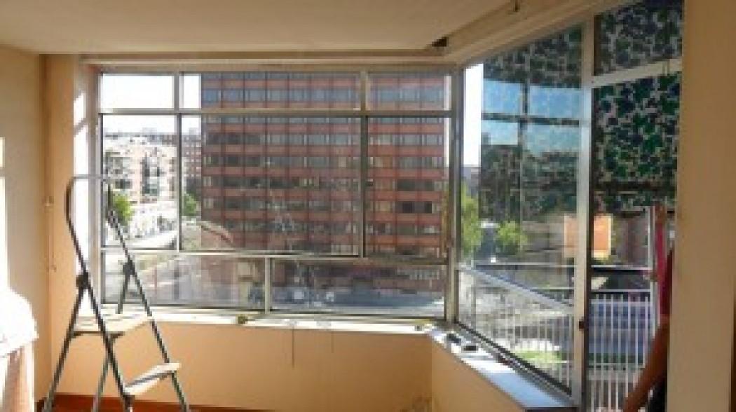 Cerramiento de aluminio para terraza, instalación en Madrid
