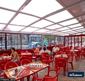 cerramiento terraza de restaurante
